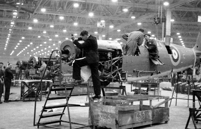 Factoría de aviones spitfire de Castle Bromwich